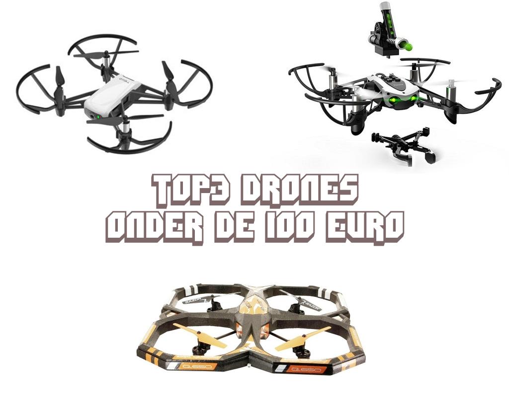 Drones voor onder de 100 euro